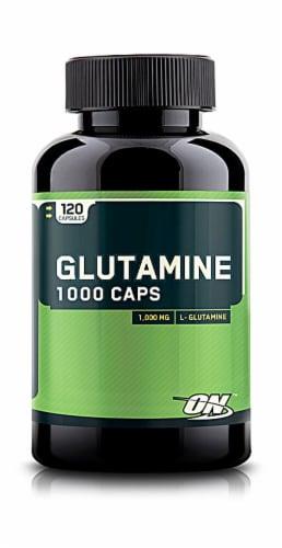 Optimum Nutrition  Glutamine Caps Perspective: front