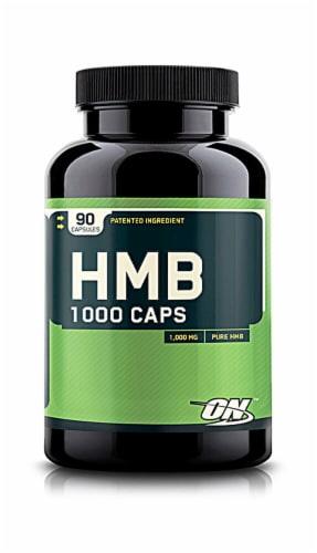 Optimum Nutrition  HMB 1000 Caps Perspective: front
