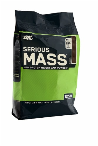 Optimum Nutrition  Serious Mass   Chocolate Perspective: front