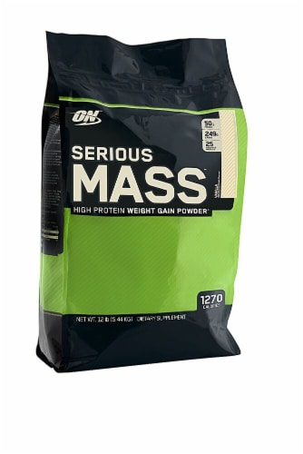 Optimum Nutrition  Serious Mass   Vanilla Perspective: front