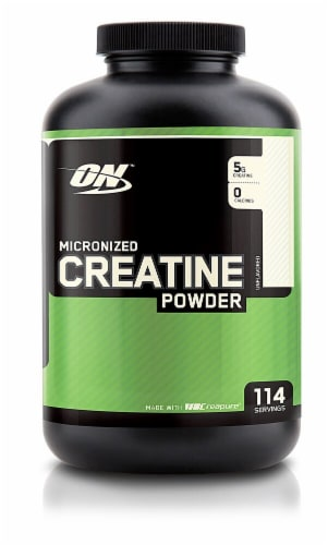 Optimum Nutrition  Micronized Creatine Powder   Unflavored Perspective: front