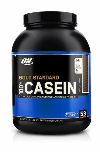 Optimum Nutrition  Gold Standard 100% Casein   Chocolate Supreme Perspective: front