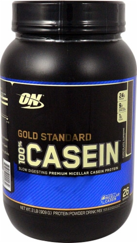 Optimum Nutrition  Gold Standard 100% Casein   Chocolate Supreme Perspective: front