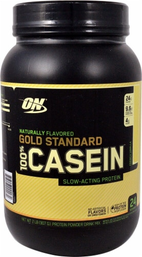 Optimum Nutrition  Gold Standard Natural 100% Casein   French Vanilla Perspective: front