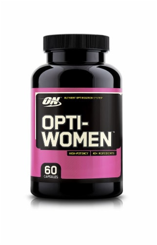 Optimum Nutrition  Opti-Women™ Perspective: front