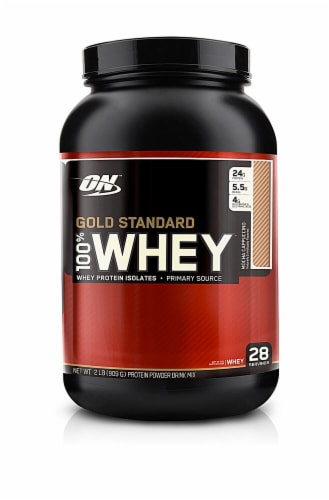 Optimum Nutrition  Gold Standard 100% Whey   Mocha Cappuccino Perspective: front