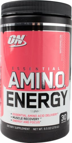 Optimum Nutrition  Essential AMIN.O Energy™   Watermelon Perspective: front