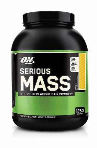 Optimum Nutrition  Serious Mass   Banana Perspective: front