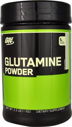 Optimum Nutrition  Glutamine Powder Perspective: front