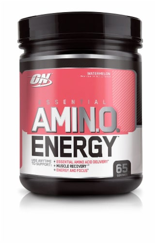 Optimum Nutrition Essential AmiN.O. Energy Watermelon Perspective: front
