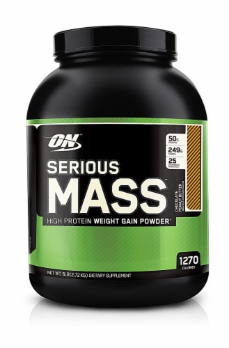 Optimum Nutrition  Serious Mass™   Chocolate Peanut Butter Perspective: front