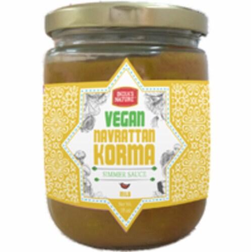 India's Nature Sauces Vegan Navratan Korma - 18 Oz Perspective: front