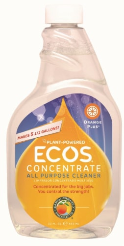 ECOS Orange Plus Concentrate All Purpose Cleaner Perspective: front