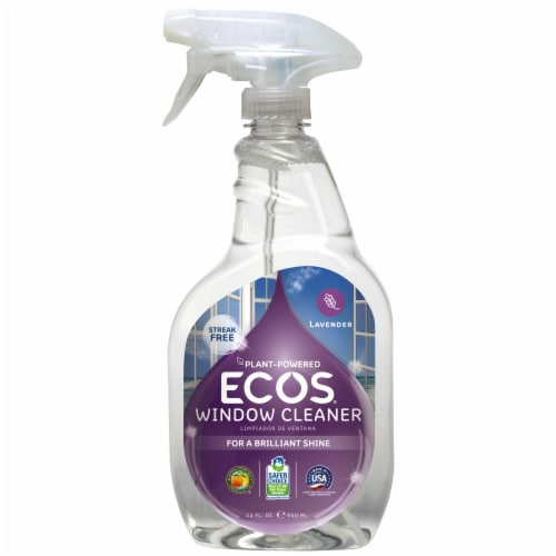 Earth Friendly  Ecos® Glass & Surface Cleaner Lavender Perspective: front