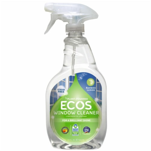 Earth Friendly ECOS Bamboo Lemon Window Cleaner Perspective: front