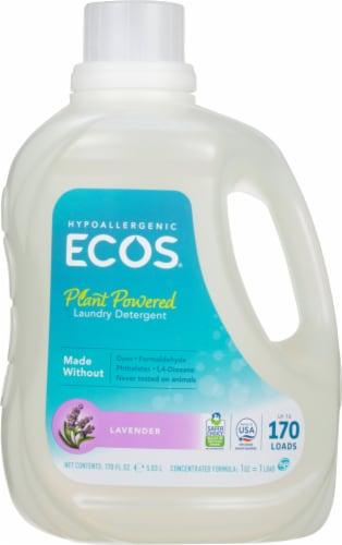 ECOS 2x Lavender Laundry Detergent Perspective: front