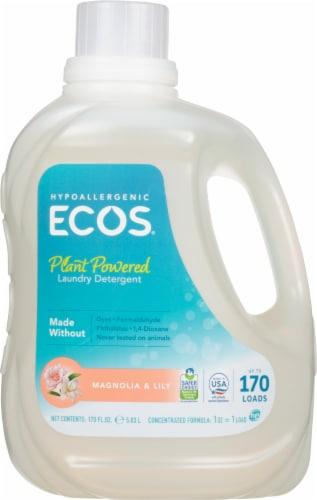 ECOS Magnolia & Lily Liquid Laundry Detergent Perspective: front