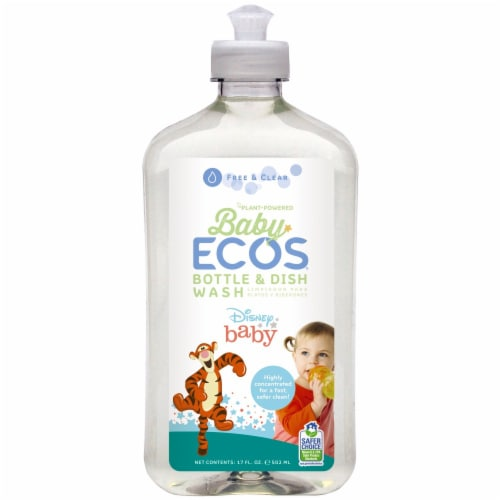 ECOS Baby Bottle Wash & Dish Soap Perspective: front