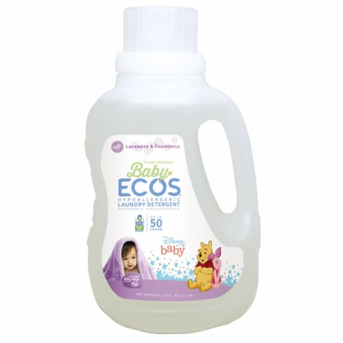 ECOS Baby Lavender & Chamomile Laundry Detergent Perspective: front