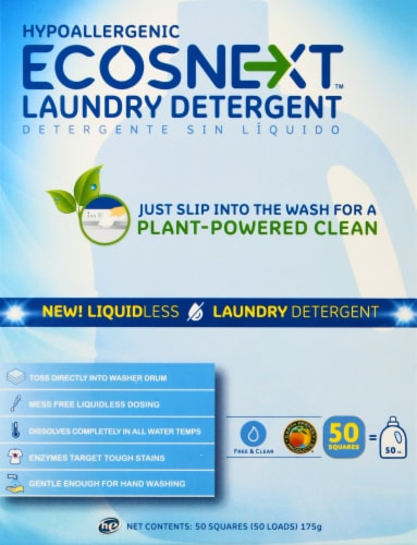 ECOSNext Liquidless Free & Clear Laundry Detergent Perspective: front
