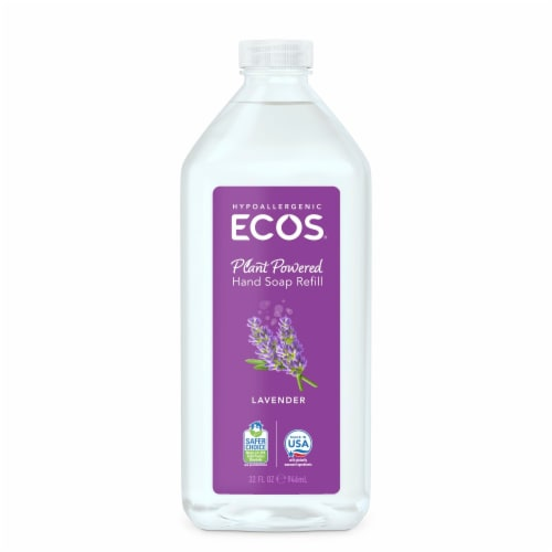 Earth Friendly Ecos™ Hand Soap Refill Lavender Perspective: front