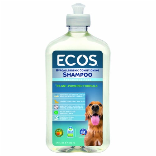 ECOS™ For Pets Fragrance Free Conditioning Shampoo Perspective: front
