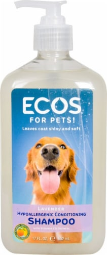 ECOS For Pets Lavender Hypoallergenic Conditioning Shampoo Perspective: front