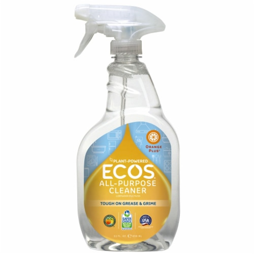 ECOS Orange Plus RTU All Purpose Cleaner Perspective: front