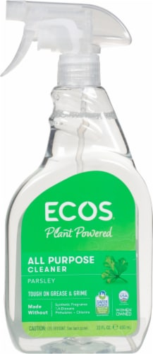 ECOS® Parsley Plus All Purpose Cleaner Perspective: front