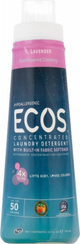 ECOS 4x Concentrate Lavender Laundry Detergent Perspective: front