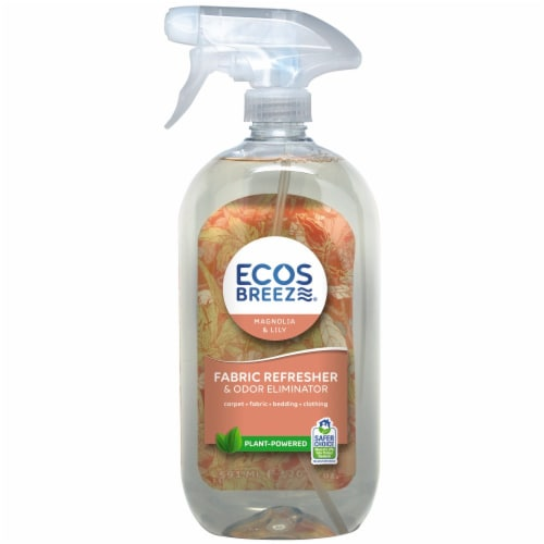ECOS Breeze® Magnolia & Lily Fabric Refresher & Odor Eliminator Perspective: front