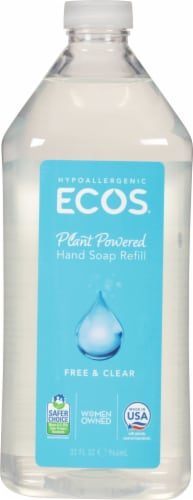 Earth Friendly Products ECOS Free & Clear Hand Soap Refill Perspective: front