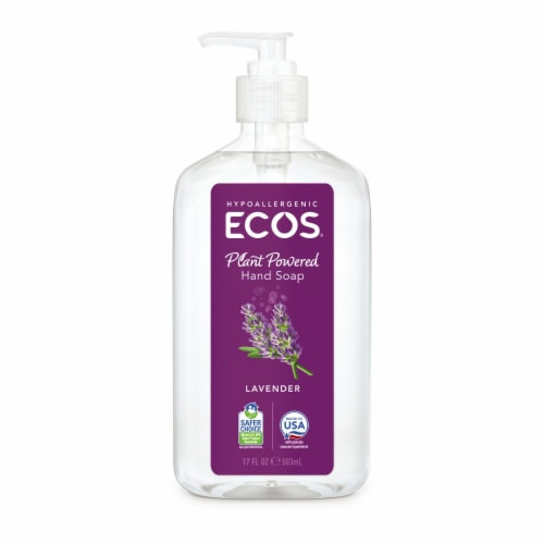 ECOS Lavender Hand Soap Perspective: front