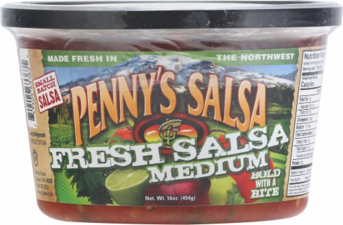 Penny's Medium Salsa Perspective: front