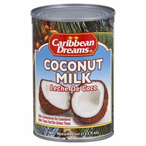 Caribbean Dreams Coconut Milk Perspective: front