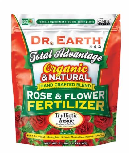 Dr. Earth® Total Advantage Rose and Flower Fertilizer Perspective: front