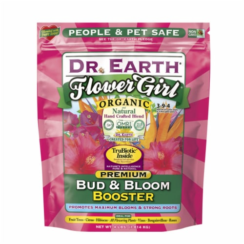 Dr. Earth® Flower Girl Organic Bud & Bloom Booster Perspective: front