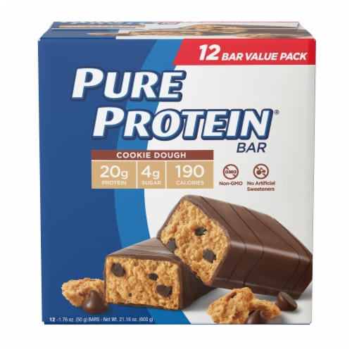 Pure Protein® Cookie Dough Bars Perspective: front