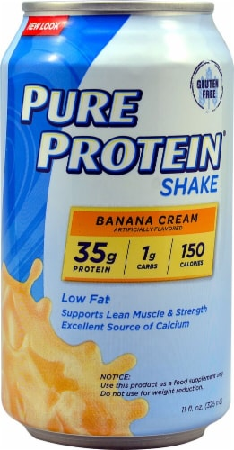 Worldwide Sports Nutrition  Pure Protein™ Shake   Banana Cream Perspective: front