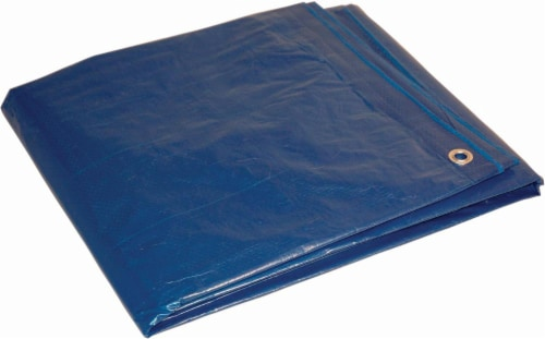 Foremost Tarp Co. Dry Top - Blue Perspective: front