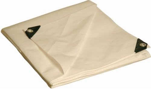 Foremost Tarp Co. Dry Top Camouflage Tarp Perspective: front