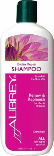 Aubrey  Biotin Repair Shampoo Citrus Rain Perspective: front