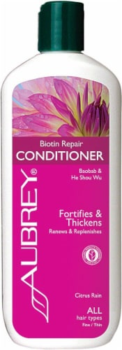 Aubrey Citrus Rain Biotin Repair Conditioner Perspective: front