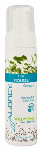 Aubrey  Chia Mousse Volumizing Fine-Thin Hair Perspective: front