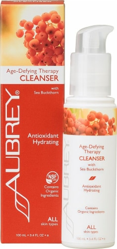 Aubrey Organics Antioxidant Cleanser Perspective: front