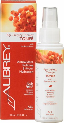 Aubrey  Age-Defying Therapy Antioxidant Refining 8 Hour Hydration Toner Perspective: front