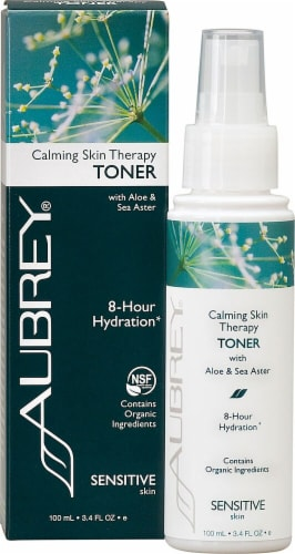Aubrey  Calming Skin Therapy 8 Hour Hydration Toner Perspective: front