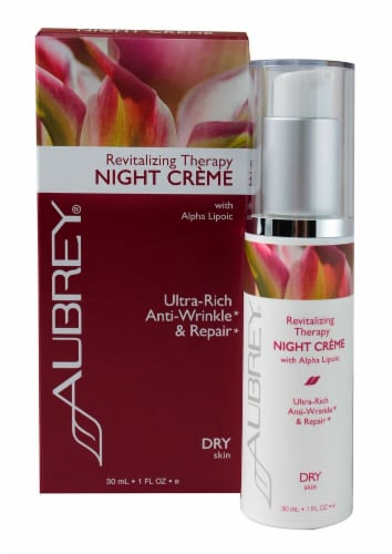 Aubrey  Revitalizing Therapy Ultra-Rich Anti-Wrinkle & Repair Night Creme Perspective: front