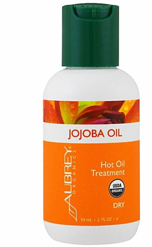 Aubrey  Organic Jojoba Oil for Hot Oil Treatments Perspective: front