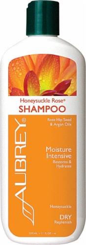Aubrey Organics Honeysuckle Rose Shampoo Perspective: front